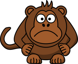 Angry-Cartoon-monkey