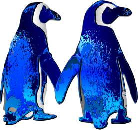 Penguin-Couple-2-by-Merlin2525